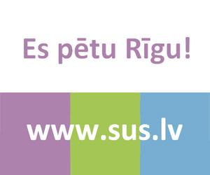 Rīgas pilsētas stratēģijas ieviešanas pārskats pieejams www.sus.lv