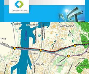 Paziņojums par Rīgas Ziemeļu transporta koridora 2.posma ietekmes uz vidi novērtējuma darba ziņojuma sabiedrisko apspriešanu