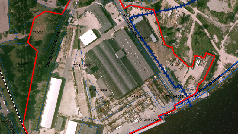 Informācija par lokālplānojuma izstrādes uzsākšanu teritorijai Podragā, Daugavgrīvas ielā 93