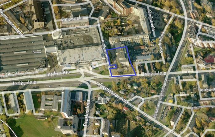 Tiek uzsākta lokālplānojuma redakcijas  zemesgabalam Ieriķu ielā 5, k-1 (Teikas apkaimē)  publiskā apspriešana