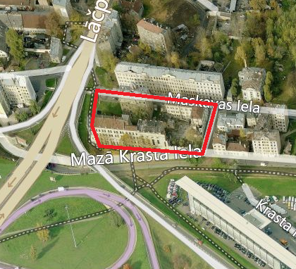 Aicinām uz sanāksmi par saņemtajiem priekšlikumiem lokālplānojumam kvartālam starp Maskavas, Bārddziņu, Mazo Krasta un Lāčplēša ielu