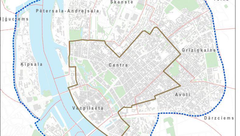 Paziņojums par Rīgas vēsturiskā centra un tā aizsardzības zonas  tematisko plānojumu izstrādes uzsākšanu