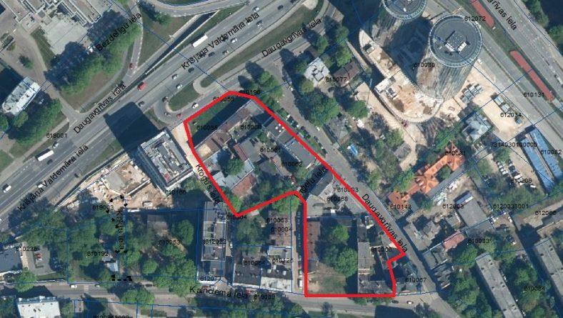 """Paziņojums par grozījumu Rīgas domes 19.06.2018. lēmumā Nr.1334 """"Par zemesgabalu Krišjāņa Valdemāra ielā bez numura, Daugavgrīvas ielā 8, Daugavgrīvas ielā 10 un Kalnciema ielā 3 lokālplānojuma kā Rīgas teritorijas plānojuma 2006.–2018.gadam grozījumu izstrādes uzsākšanu"""""""