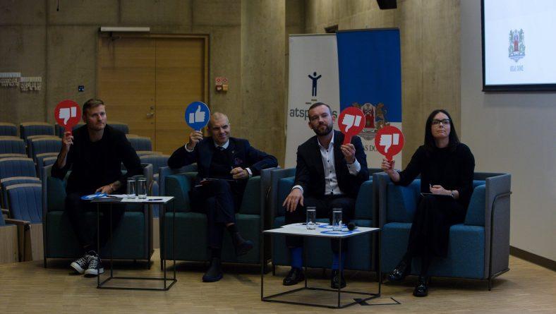 """Rīgas domes grantu programma """"Atspēriens"""" ir noskaidrojusi uzvarētājus  un pasniegs 75 000 EUR lielu grantu 3 viedpilsētu idejām"""
