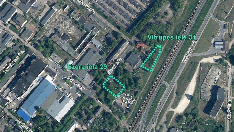 Par sākotnējā IVN veikšanu paredzētajai darbībai Ezera ielā 29 un Vitrupes ielā 31, Rīgā